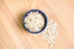 Oatmeal νιφάδες Στοκ εικόνες με δικαίωμα ελεύθερης χρήσης