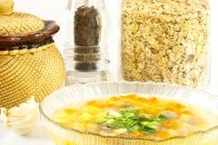 oatmeal σούπα Στοκ φωτογραφία με δικαίωμα ελεύθερης χρήσης