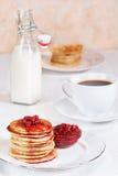 oatmeal στοίβα τηγανιτών Στοκ Φωτογραφίες