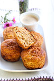 Oatmeal της Apple muffins Στοκ φωτογραφίες με δικαίωμα ελεύθερης χρήσης