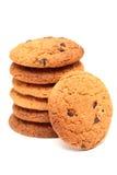 oatmeal печений шоколада обломока Стоковое Изображение RF