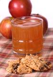 oatmeal печений яблока Стоковое Фото