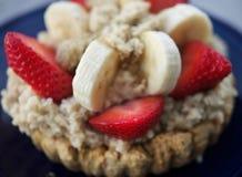 oatmeal плодоовощ завтрака здоровый Стоковое Изображение RF
