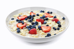 oatmeal шара ягод стоковые изображения