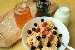 oatmeal Foto de Stock Royalty Free