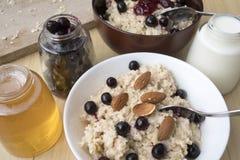 oatmeal image stock