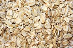Oatmeal. Close up of flake oatmeal for background usage Royalty Free Stock Photography