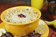 oatmeal 2 κύπελλων Στοκ Φωτογραφίες