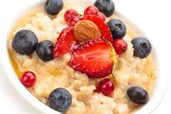 oatmeal Royaltyfri Bild