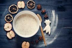 oatmeal Στοκ Εικόνες