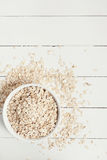 oatmeal photographie stock