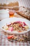oatmeal photo stock