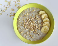 oatmeal Immagine Stock Libera da Diritti
