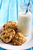 Oatmeal applesauce μπισκότα Στοκ εικόνες με δικαίωμα ελεύθερης χρήσης