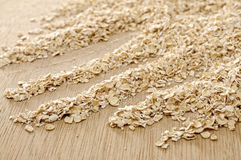 Oatmeal Background Stock Photography
