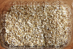 Oatmeal background stock image