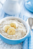 Oatmeal with banana Royalty Free Stock Photo