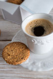 Oatmeal biscuits Stock Images