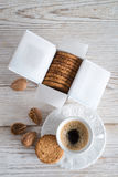 Oatmeal biscuits Stock Image