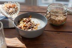 Oatmeal stock photography