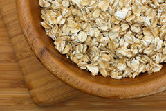 Oatmeal in a bowl Stock Photography
