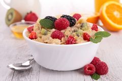 Oatmeal Royalty Free Stock Photos