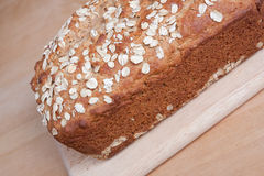 Oatmeal Bread stock image