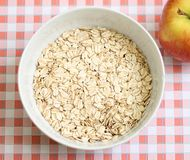 Oatmeal breakfast Stock Photos