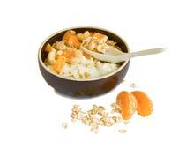 Oatmeal breakfast Stock Photography
