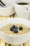 Oatmeal for breakfast Royalty Free Stock Images