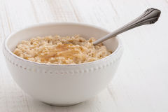 Oatmeal breakfast Stock Images