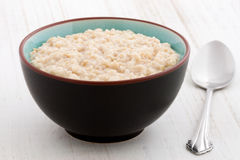 Oatmeal breakfast Stock Image
