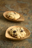 Oatmeal and Chocolate Cookies Stock Image