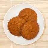 Oatmeal ciastka Zdjęcie Stock