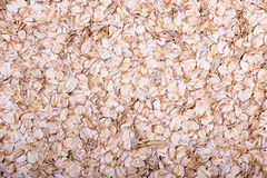Oatmeal, close up. Oatmeal flakes close up as background Stock Photo