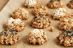 Oatmeal cookie Stock Images