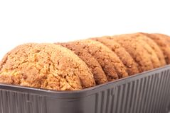 Oatmeal cookie Royalty Free Stock Photo