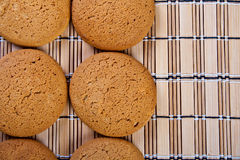 Oatmeal cookies. Royalty Free Stock Photos