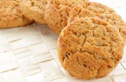 Oatmeal cookies Stock Photos