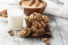Free Oatmeal Cookies Royalty Free Stock Photography - 75298467
