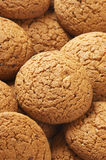 Oatmeal cookies close-up Stock Images