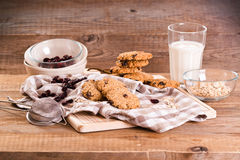 Oatmeal cookies. Stock Photography