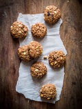 Oatmeal cookies Stock Images