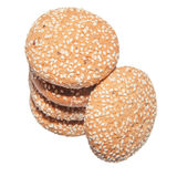 Oatmeal cookies isolated Royalty Free Stock Image