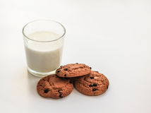 Oatmeal cookies with raisins stock photography