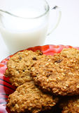 Oatmeal cookies (vertical) Stock Images