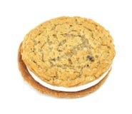 Free Oatmeal Creme Cookie Stock Photo - 10241360