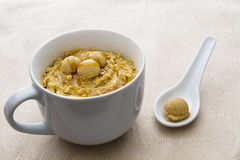Oatmeal in a cup Stock Images