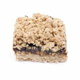 Oatmeal Date Square Stock Photography