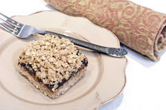 Oatmeal Date Square Royalty Free Stock Image